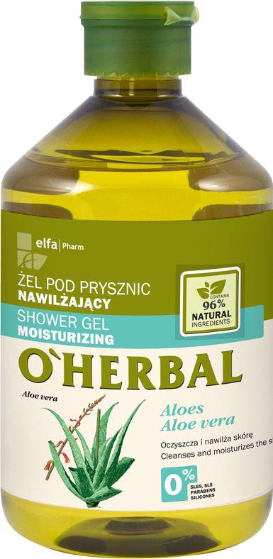 Elfa Pharm O'Herbal Żel pod prysznic nawilżający Aloes 500ml