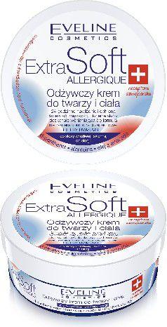 Eveline Extra Soft Krem do twarzy i ciała Skóra wrażliwa 200ml