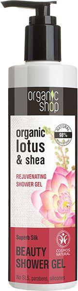 Organic Shop Żel pod prysznic Upiększający Jedwabna Rozkosz 280 ml