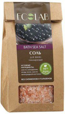EcLab Tonizująca sól do kąpieli