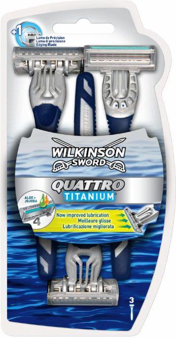 Wilkinson Maszynka jednorazowa Quatro Sensitive
