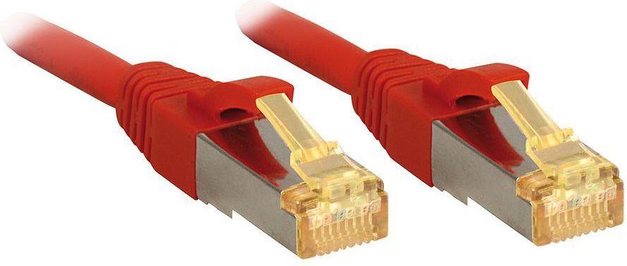 Lindy Patchcord Cat.7, S/FTP, PIMF, LSOH, 2m, czerwony (47294) 1
