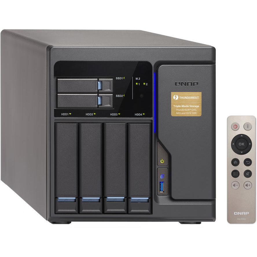 Serwer plików Qnap NAS Qnap NAS TVS-682T-i3-8G 6bay - TVS-682T-I3-8G 1