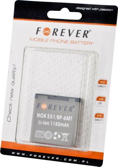 Bateria Forever Bateria Forever do Nokia E51 1150 mAh Li-Ion HQ - T_001807 1