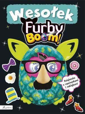 Furby Boom! Wesołek. Książeczka z wycinankami i naklejkami 1