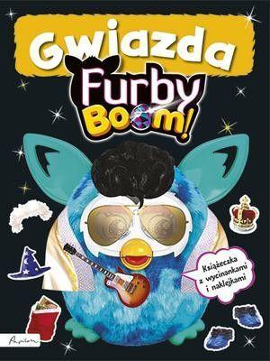 Furby Boom! Gwiazda. Książeczka z wycinankami i naklejkami 1