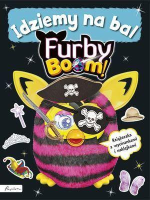 Furby Boom! Idziemy na bal. Książeczka z wycinankami i naklejkami 1