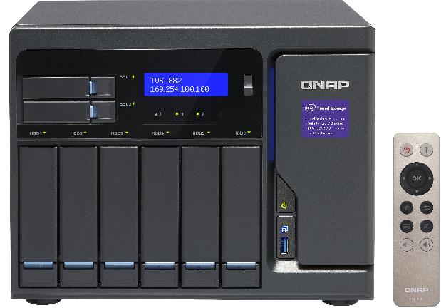 Serwer plików Qnap TVS-882 8-bay (TVS-882-I5-16G) 1