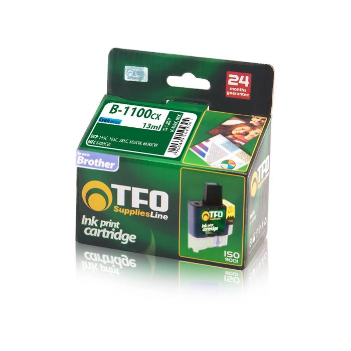 TF1 Tusz B-1100CX / LC1100C, LC980C (Cyan) 1