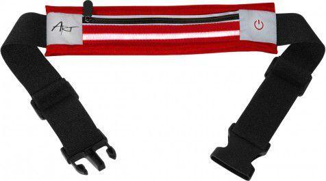 Art Pas sportowy podświetlany z kieszenią czerwony (APS-01R) 1