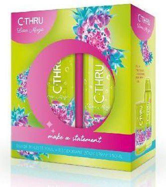 C-Thru Zestaw prezentowy Lime Magic (Woda toaletowa 30ml + Deo spray 150ml) 1