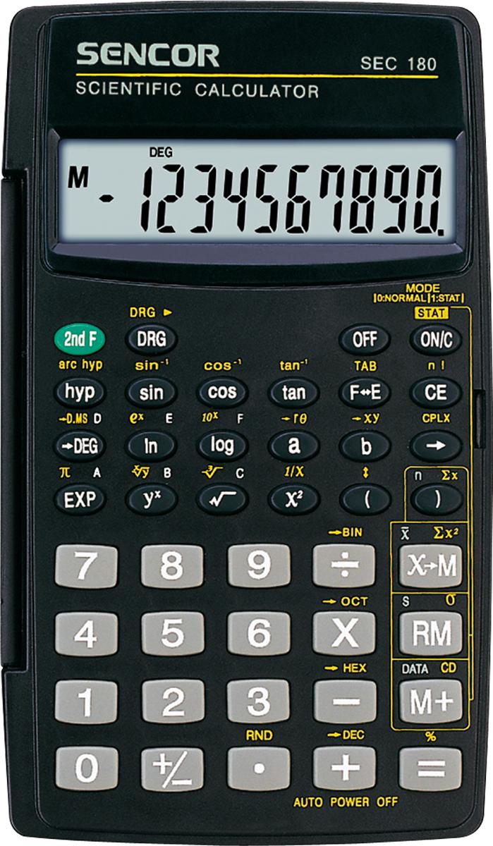 Kalkulator Sencor SEC 180 1