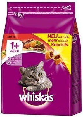 Whiskas DRY WOŁOWINA 1.4KG 1