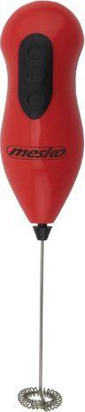 Spieniacz do mleka Mesko Czerwony (MS 4462 R) 1