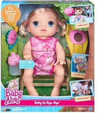 Hasbro Baby Alive Raczkujący Maluszek (B6048) 1