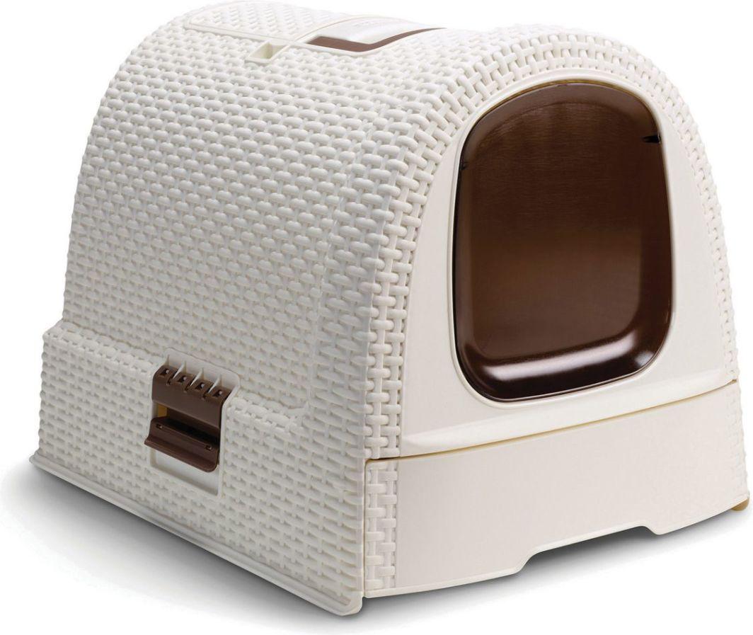 Curver Toaleta dla kota Pet Life - Kremowa 1