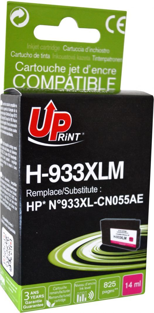 UPrint Tusz H-933XL-M / CN055AE, No.933XL (Magenta) 1