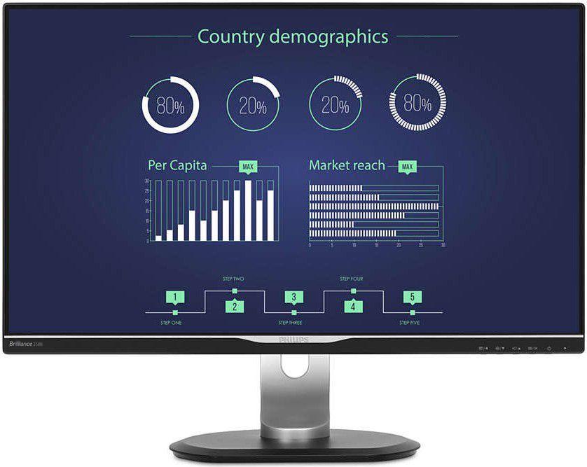 Monitor Philips B-line 258B6QUEB/00 1