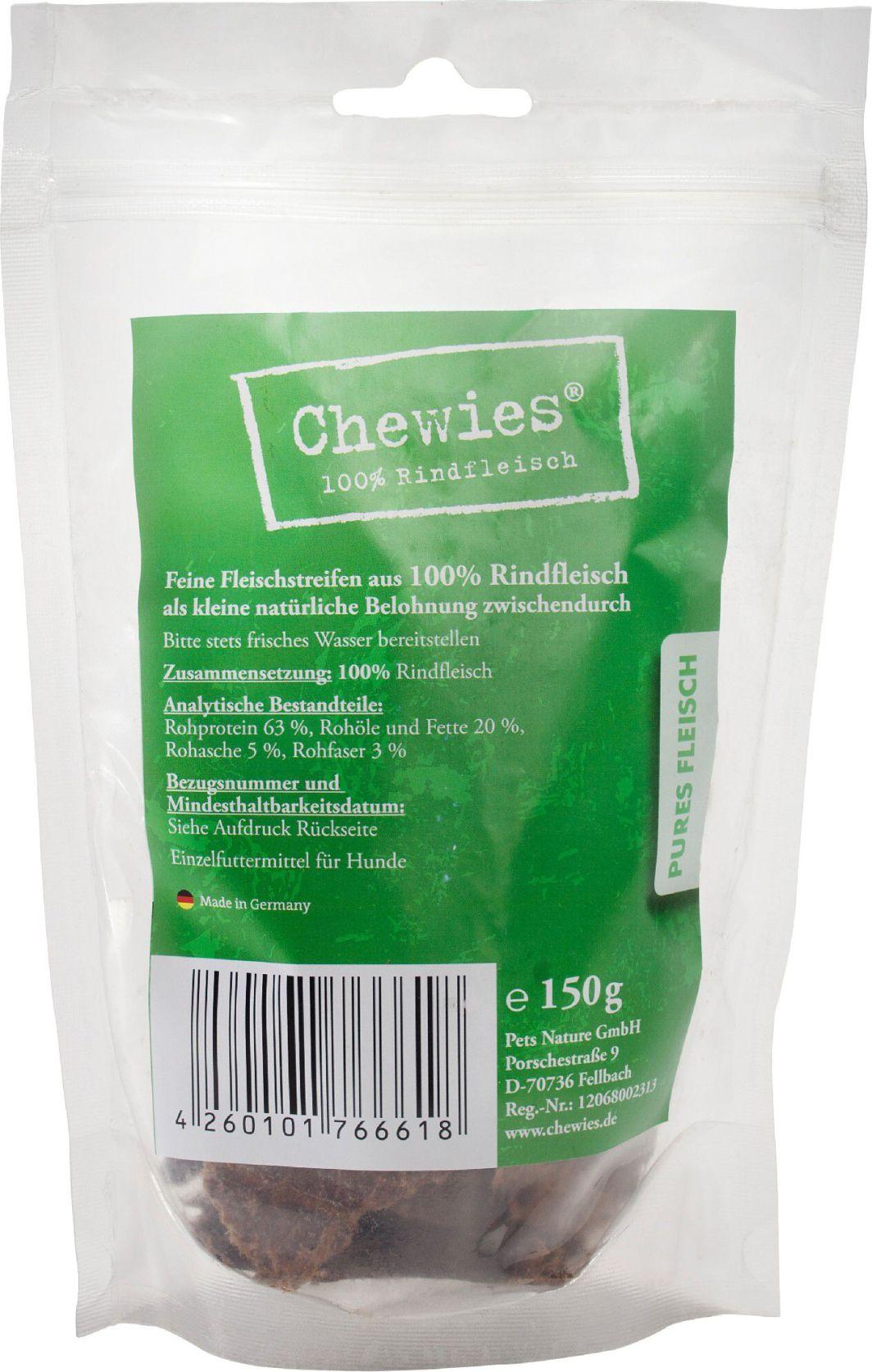 Chewies Paski mięsne Wołowina 150g 1