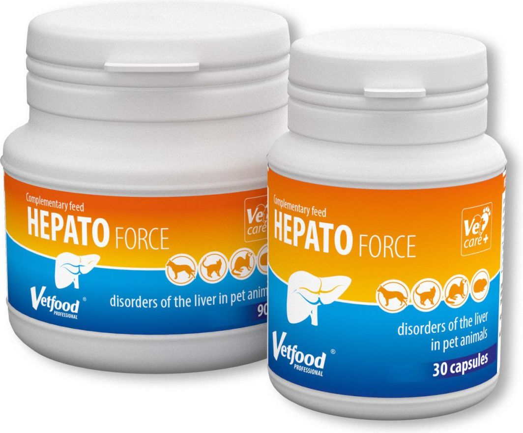Vetfood Hepatoforce 90 kaps. 1