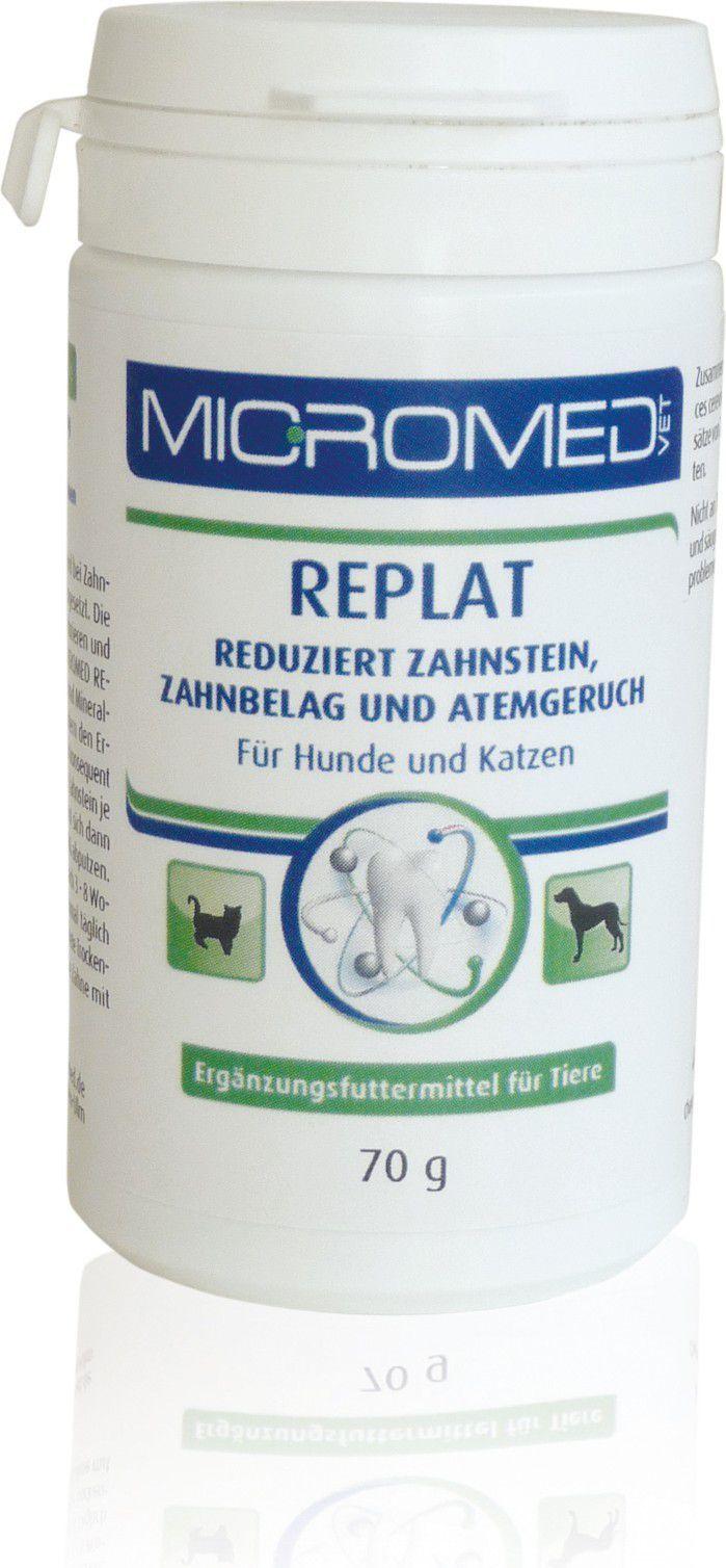 Micromed Vet Replat Suplement diety wspomagający higienę jamy ustnej 70 g 1