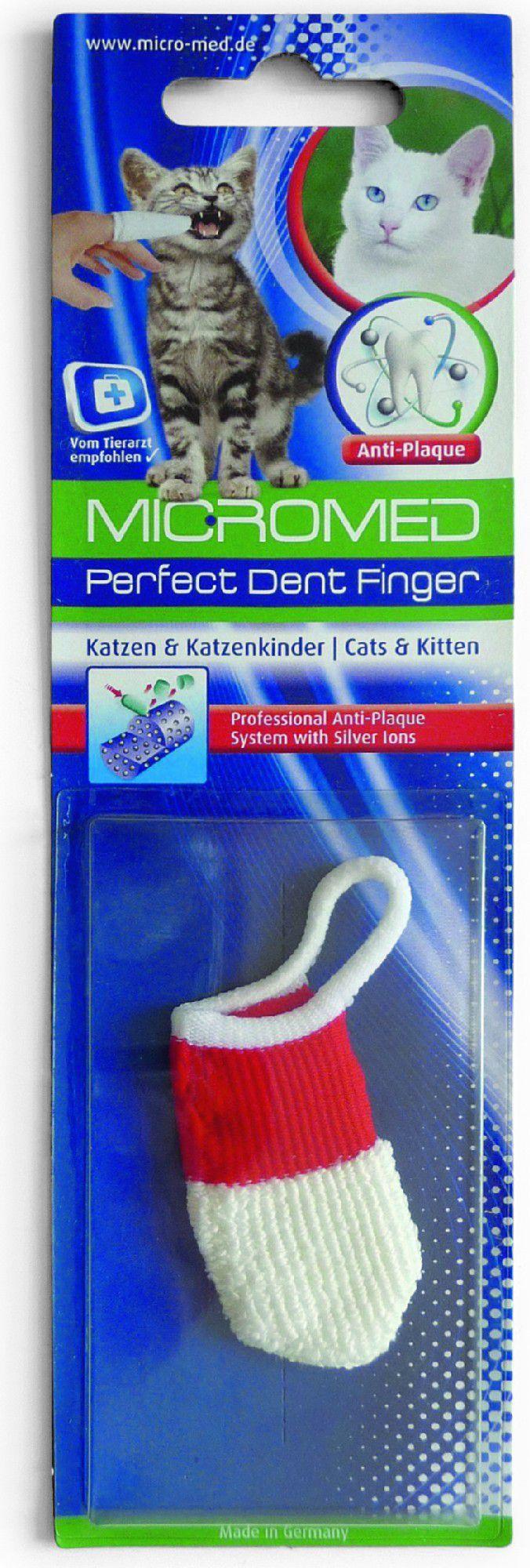 Micromed Czyścik do zębów dla Kota Blistr 1