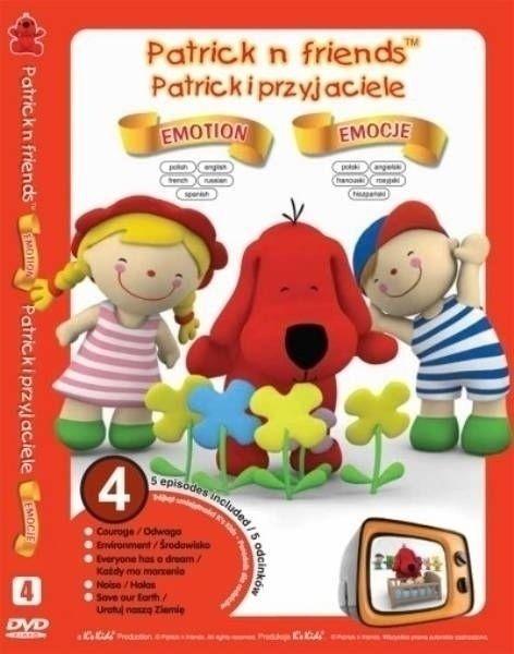 Zestaw 5 edukacyjnych kreskówek na płycie DVD (KIDS-0264) 1