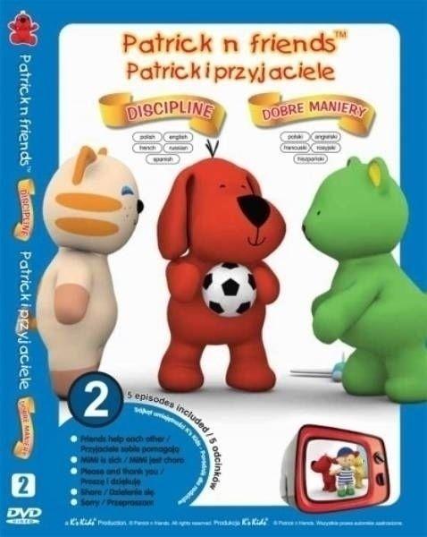 Zestaw 5 edukacyjnych kreskówek na płycie DVD - Julia (KIDS-0262) 1
