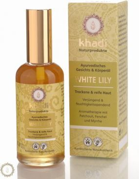 Khadi Olejek do Twarzy i Ciała z Białą Lilią 100 ml 1