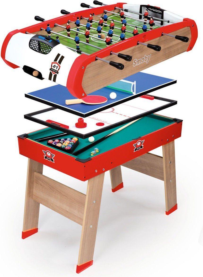 Smoby Stół do gry 4w1 (7600640001) 1
