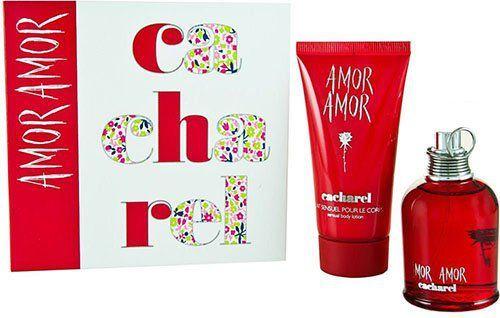 Cacharel ZESTAW Cacharel Amor Amor EDT spray 100ml + BL 200ml 1