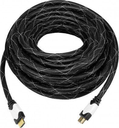 Kabel Art HDMI - HDMI 15m czarny (KABHD OEM-36OP) 1