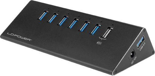 HUB USB LC-Power LC-HUB-ALU-2B-7 1
