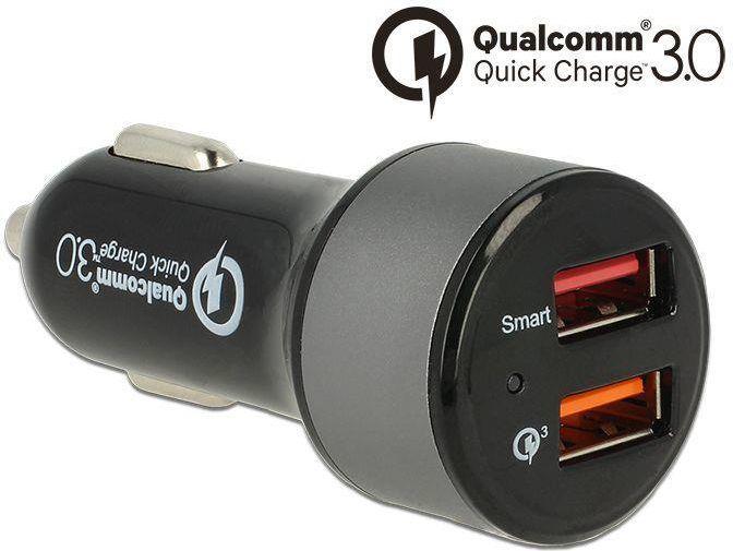 Ładowarka Navilock quick chaarge 3.0 + 1 X USB 2.4 A (62739) 1