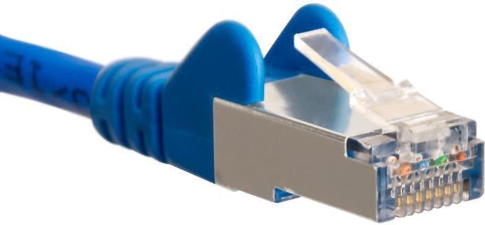 DigitalBOX RJ-45/RJ-45 kat.6a 0.5m niebieski (STLSF6A05MB) 1