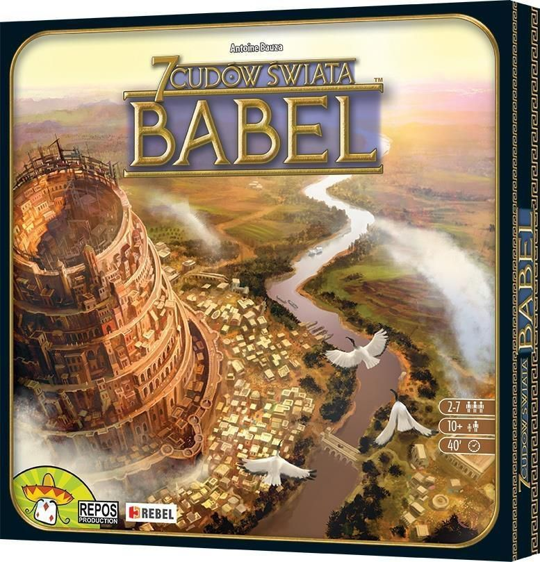 Rebel Gra planszowa 7 Cudów Świata: Babel (175490) 1