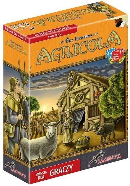 Lacerta Gra planszowa Agricola Wersja dla graczy (205911) 1