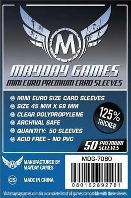 Mayday Koszulki Mini Euro 45x68 (50szt) MAYDAY - 176255 1