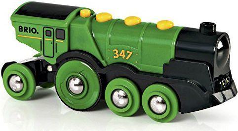 Brio Lokomotywa klasyczna zielona 2013 (33593) 1