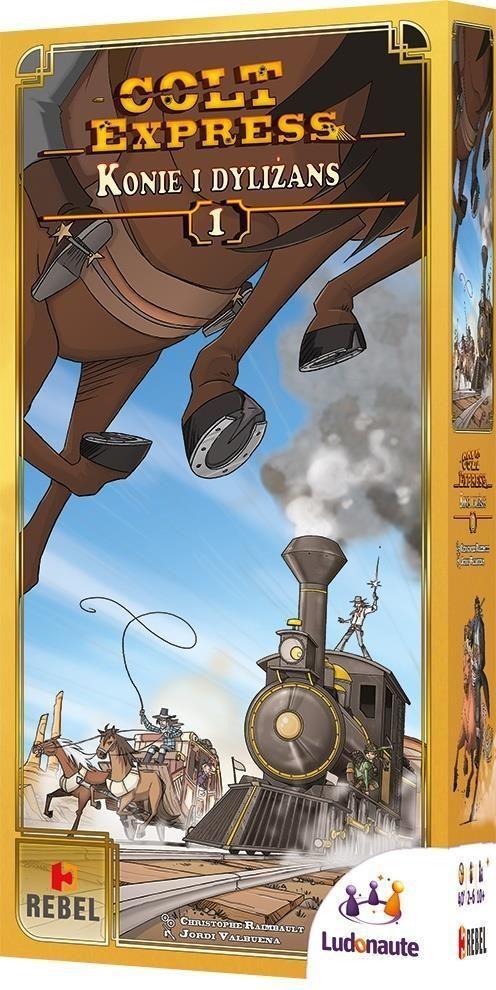 Rebel Gra planszowa Colt Express: Konie i dyliżans (177304) 1