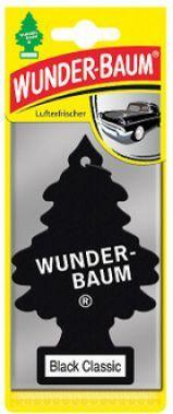 WunderBaum Zapachowa Choinka do auta Czarna Klasyka 1