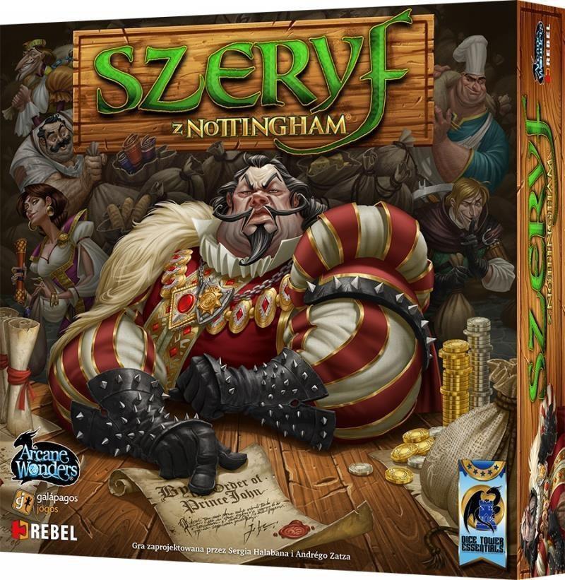 Rebel Gra planszowa Szeryf z Nottingham (10002) 1