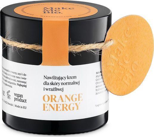 Make Me Bio Orange Energy Nawilżający krem dla skóry normalnej i wrażliwej 60ml 1
