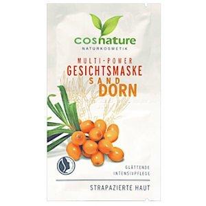 Cosnature Naturalna multi-odżywcza maska do twarzy z rokitnikiem 1
