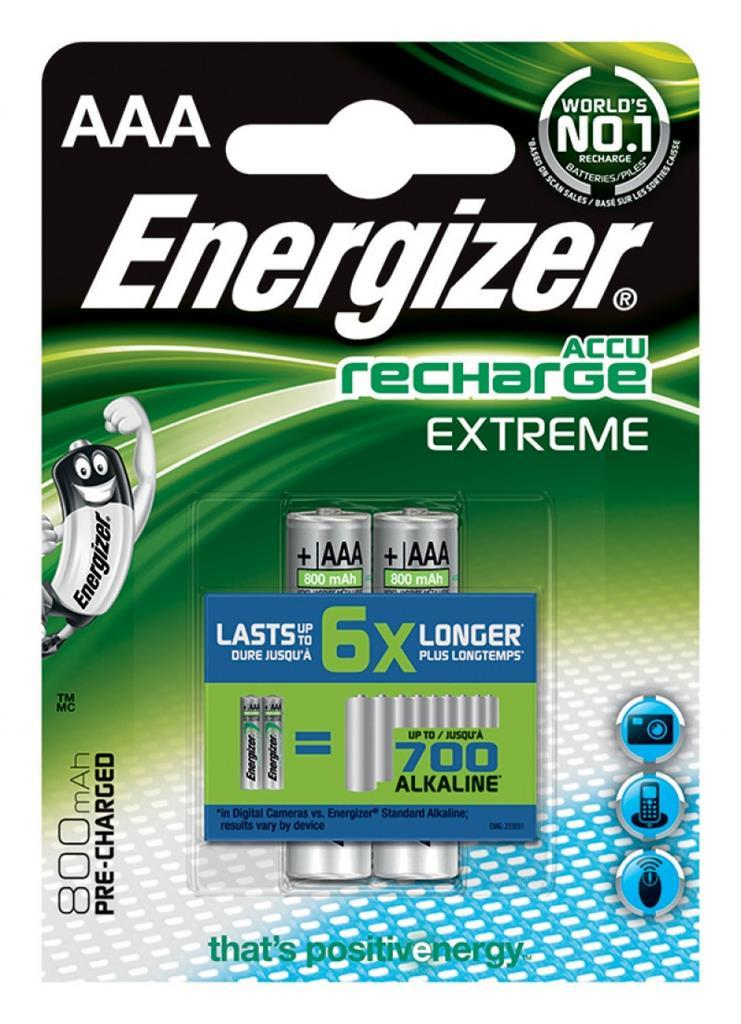 Energizer Akumulator Extreme AAA / R03 800mAh 2szt. 1