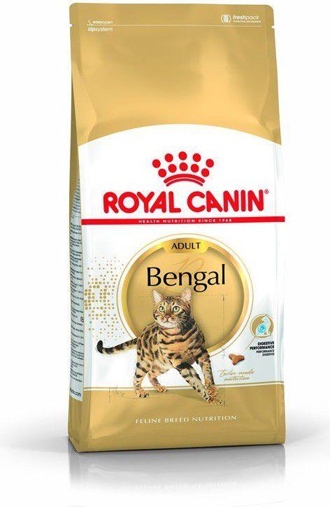 Royal Canin Bengal Adult karma sucha dla kotów dorosłych rasy bengal 2kg 1