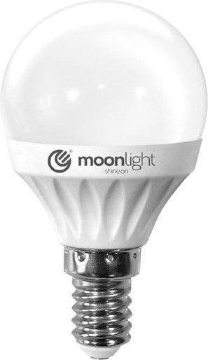 Moonlight E14, 7W, 570lm, ciepła, 45mm/83mm (ML-G45-7W-CB) 1