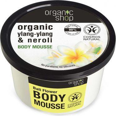 Organic Shop Bali Flower Body Mousse Mus do ciała 250ml 1