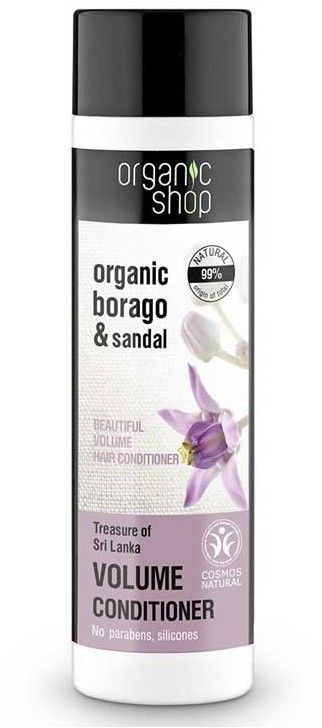 Organic Shop Treasure of Sri Lanka Volume Conditioner Odżywka do włosów 280ml 1