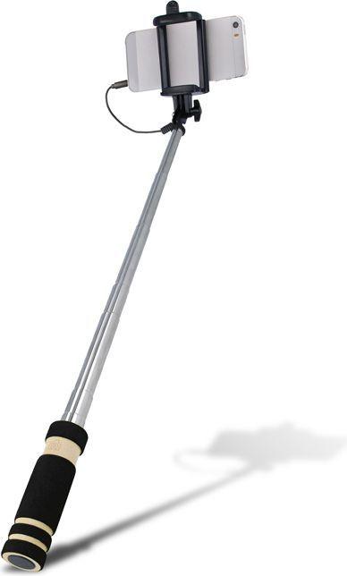 Selfie stick Setty Przewodowy, czarny (DW_000027) 1